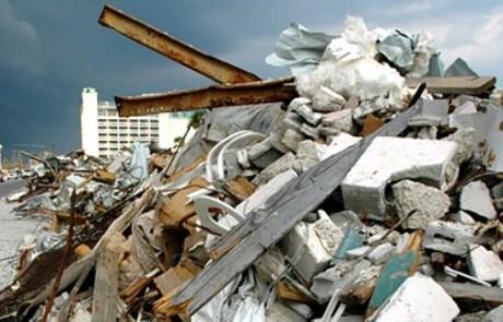 избавиться от строительного мусора