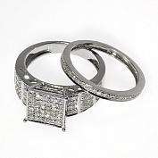 Двойные кольца: стильно оригинально