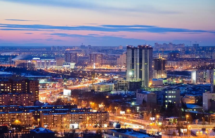 Суровый город России
