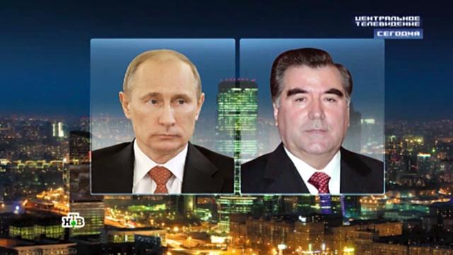 Путин выразил поддержку президенту Таджикистана после произошедших там кровавых событий