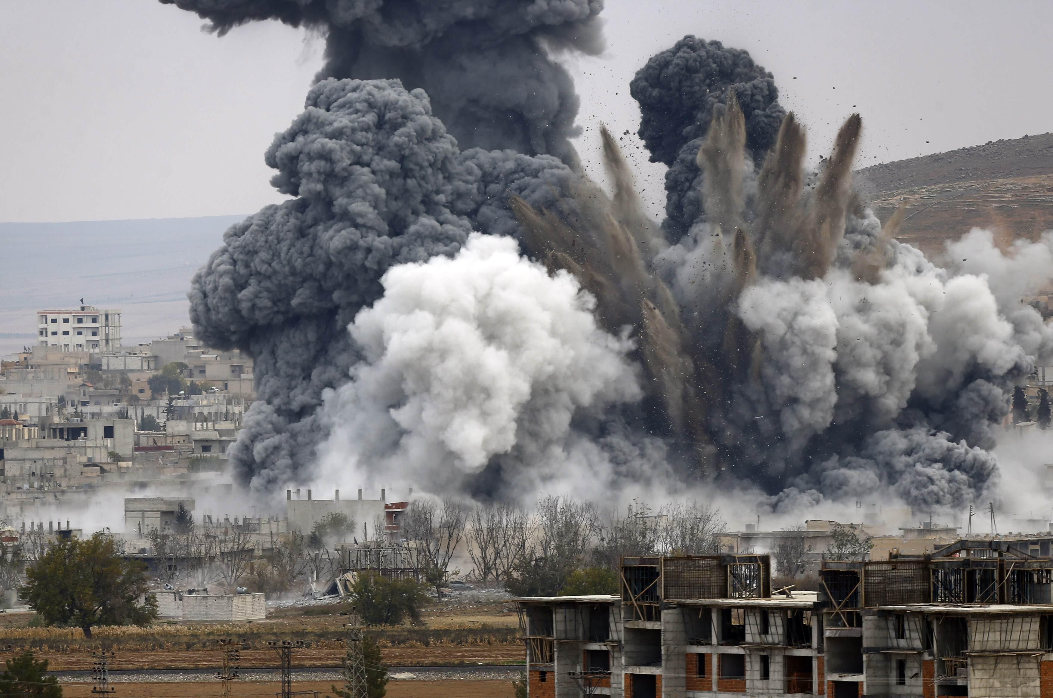 Российская авиация нанесла боевые авиаудары по Сирии
