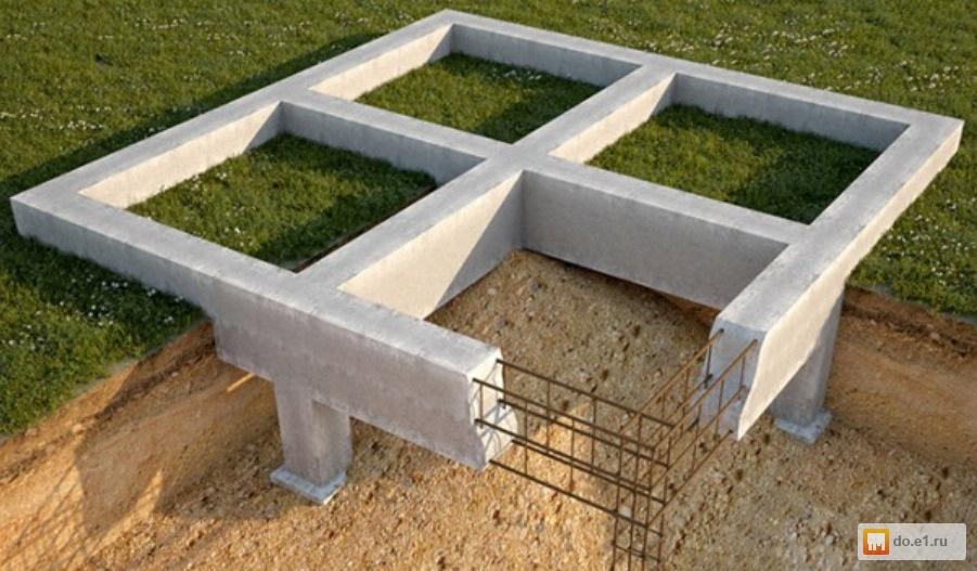Фундамент – основа прочности конструкции