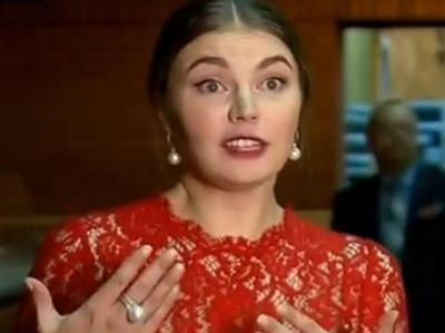 Кабаева может стать ведущей на Первом канале