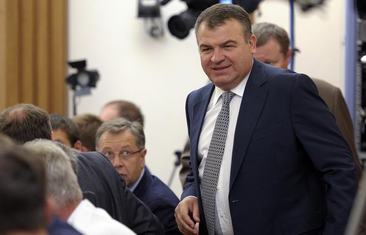 """Сердюкова назначили директором авиационной промышленности """"Ростеха"""""""