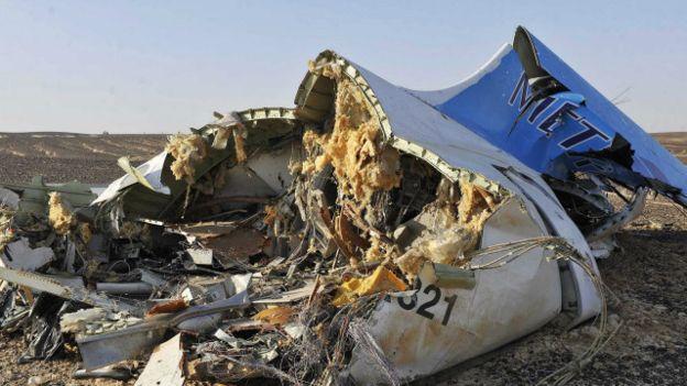 Версия о взорвавшейся на борту А-321 бомбе подтверждена на 90%