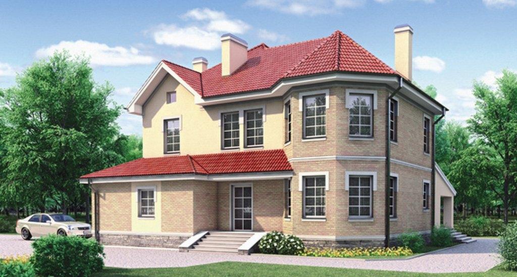 Проекты двухэтажных кирпичных домов