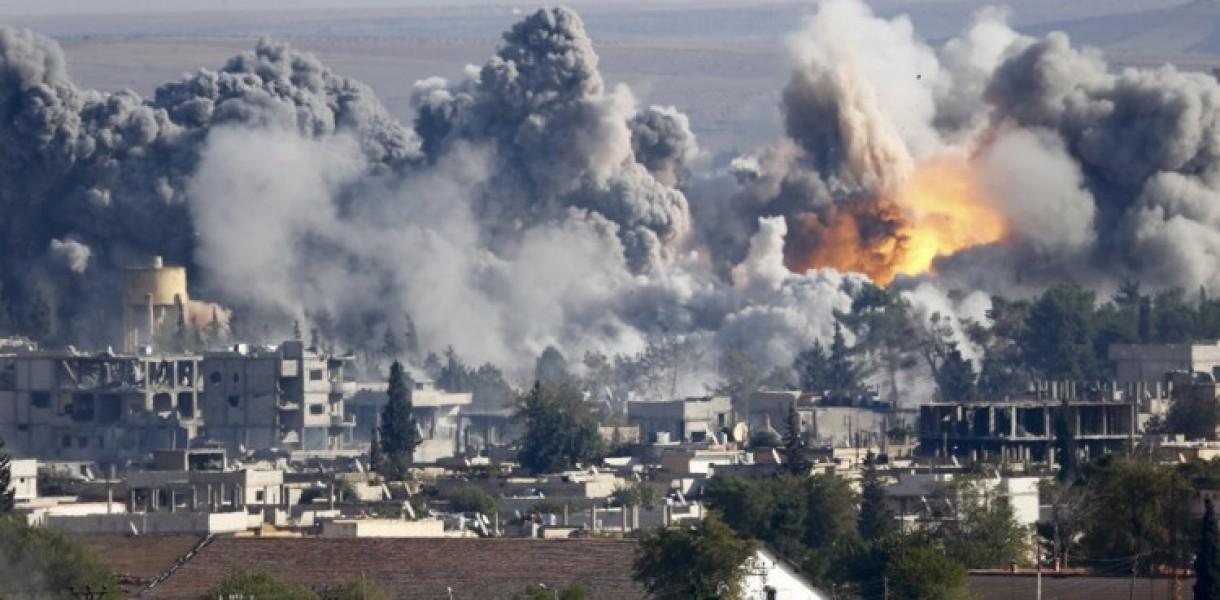 Горячая новость: Россия нанесла новый массированный удар по Сирии