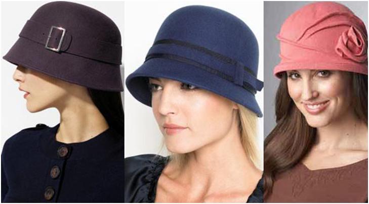 Мягкие и элегантные шляпки из велюра