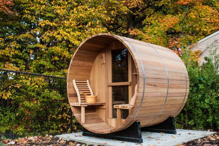Баня-Бочка для жара, купания и отдыха