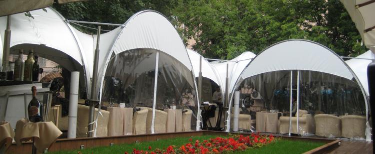 Свадебные, ресторанные, прогулочные шатры — изготовление аренда и продажа