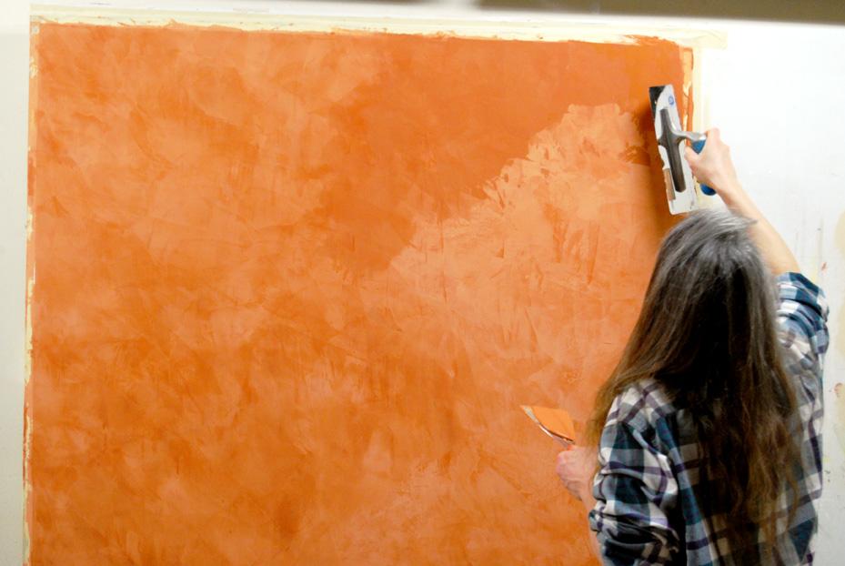 С венецианской штукатуркой дом превращается в произведение искусств