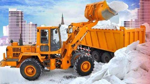 Уборка территорий зимой от снега
