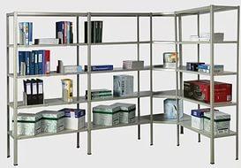 Бесплатный расчет, производство и доставка металлических стеллажей