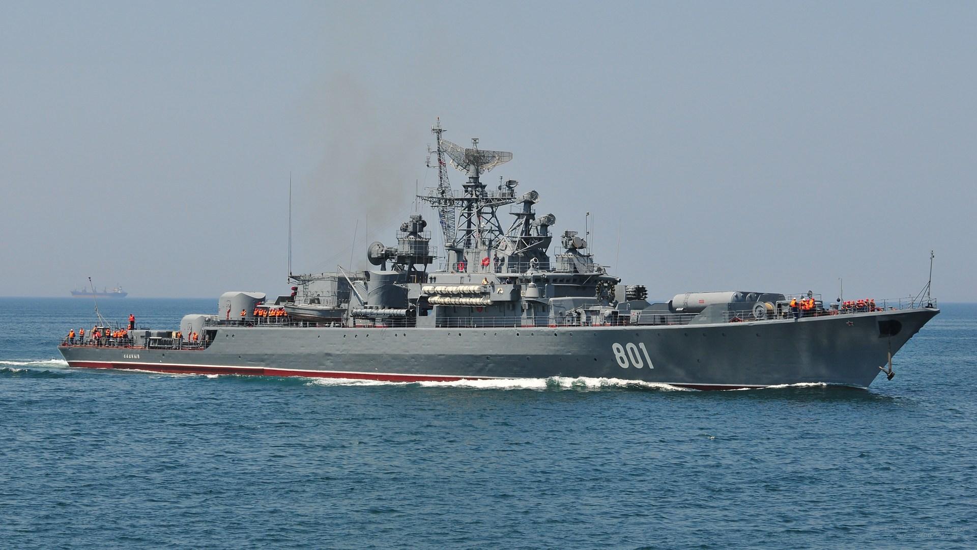 Российский сторожевой корабль обстрелял турецкое судно в международных водах