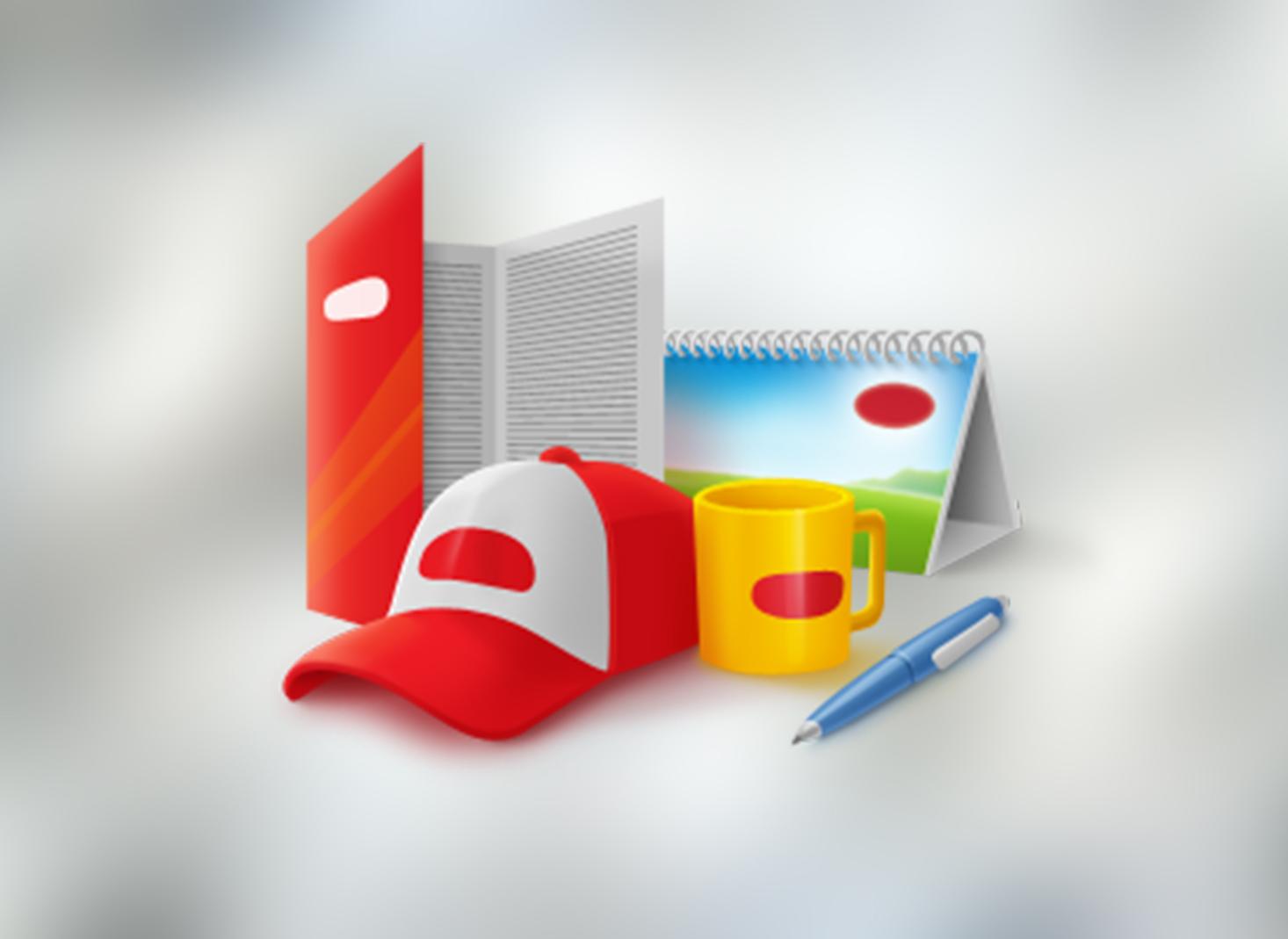 Что может стать сувенирной продукцией для нанесения логотипа?