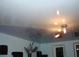 Конструктивные особенности глянцевых натяжных потолков