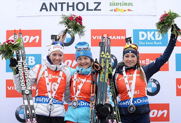 У российских биатлонистов три золота высокогорного этапа Кубка мира