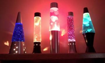 Эффектные лава-лампы и особенности их использования