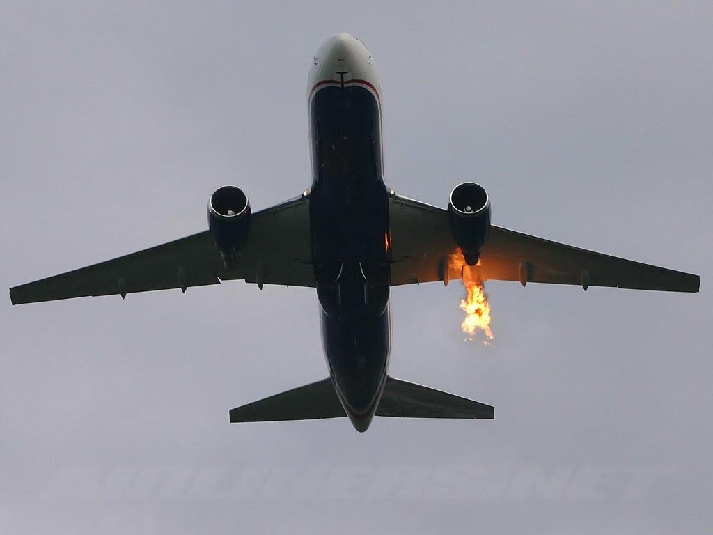 Летчики посадившие загоревшийся самолет с 355 россиянами на борту получат премии