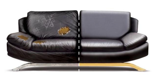 Перетяжка мебели позволит старому дивану засиять новыми красками