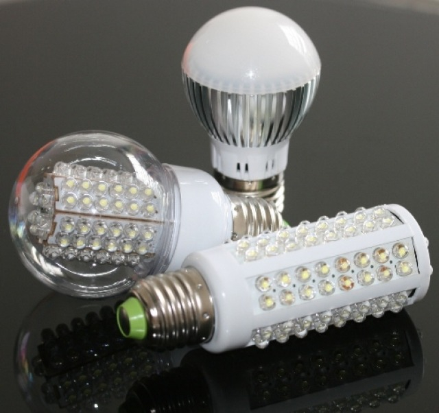 Светодиодные лампы и лампы накаливания