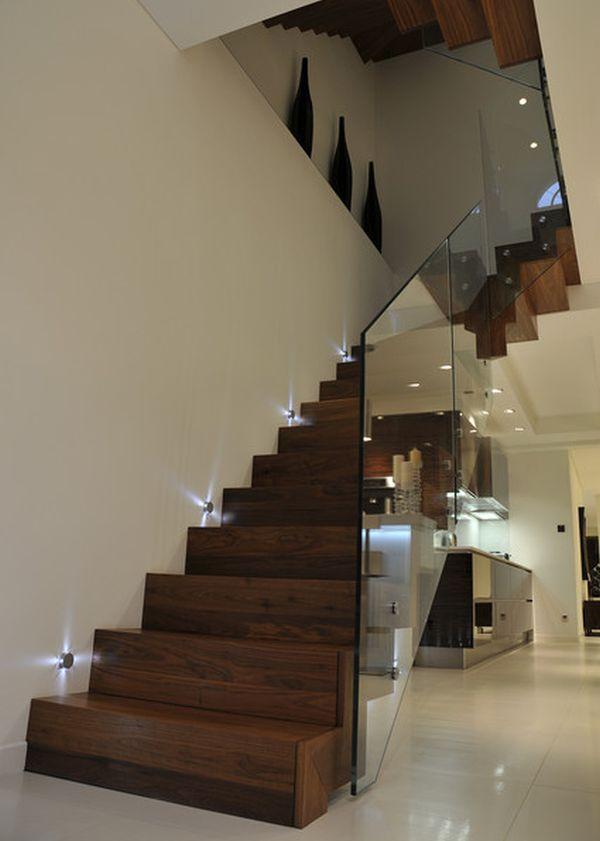 Красота современных деревянных лестниц