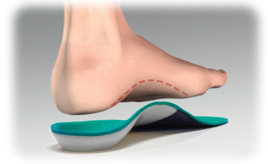 Ортопедические стельки повышенной мягкости и стельки с приподнятыми бортиками