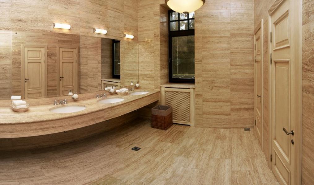 Травертин – камень для архитектурных дизайнерских решений