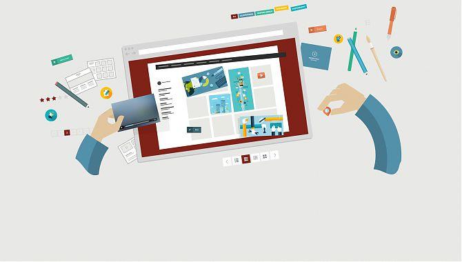 Конструктор для создания интернет-магазинов