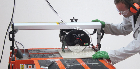Уникальный электрический плиткорез Nuova Battipav VIP 290