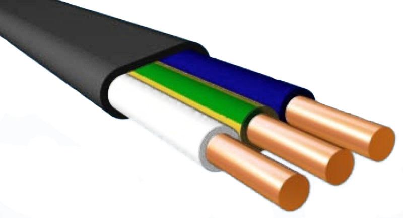 Силовой кабель не распространяющий горение
