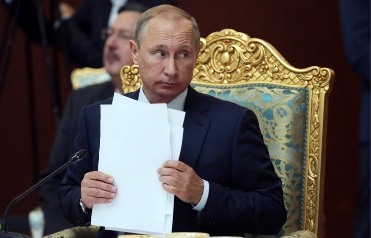 Путин предложил заняться «конвертами» и «гаражной» экономикой
