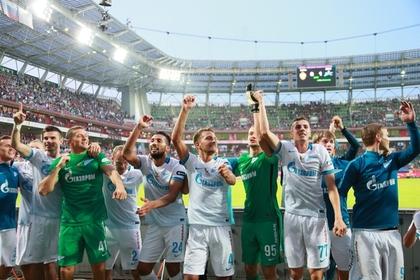 «Зениту» удалось обыграть ЦСКА и стать обладателем Суперкубка России