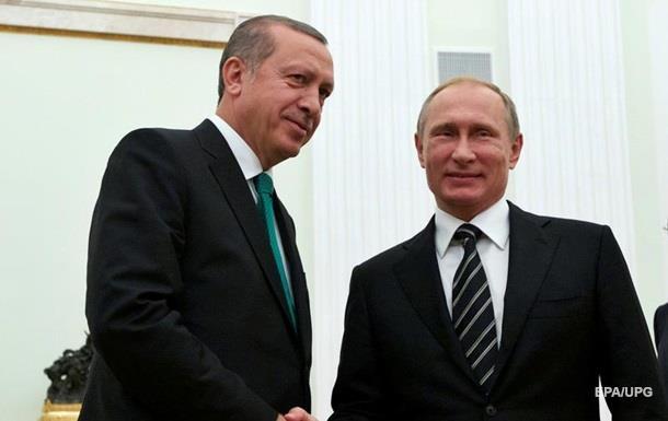 09 августа состоится визит президента Турции в Россию