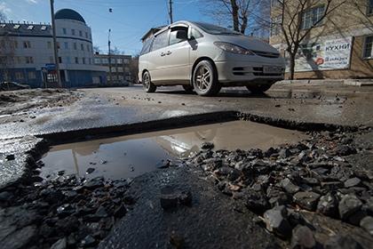 Российская Федерация по качеству дорог находится на одном уровне с Ливаном