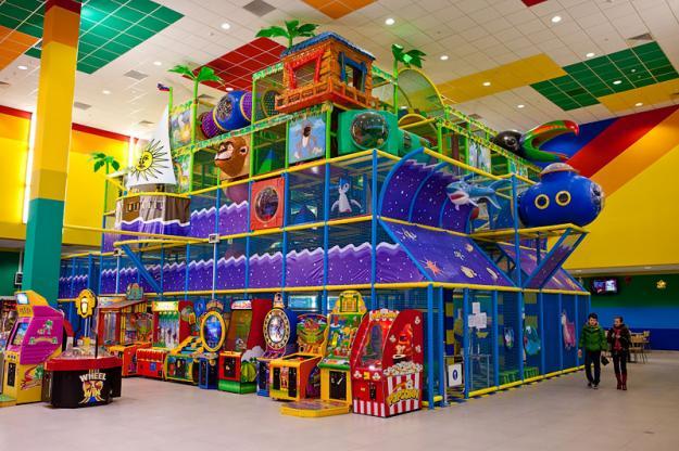 Красивый центр развлечений для детей hippo-land.ru