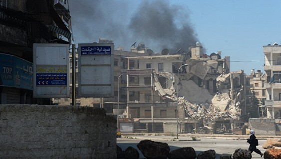 Очередная гуманитарная пауза в Алеппо