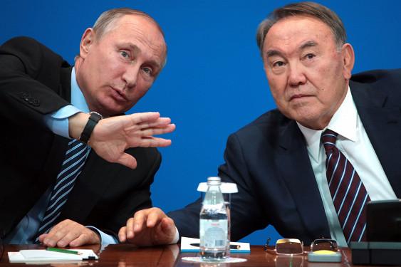 Путин и Назарбаев готовятся к предстоящей встрече по Сирии в Астане