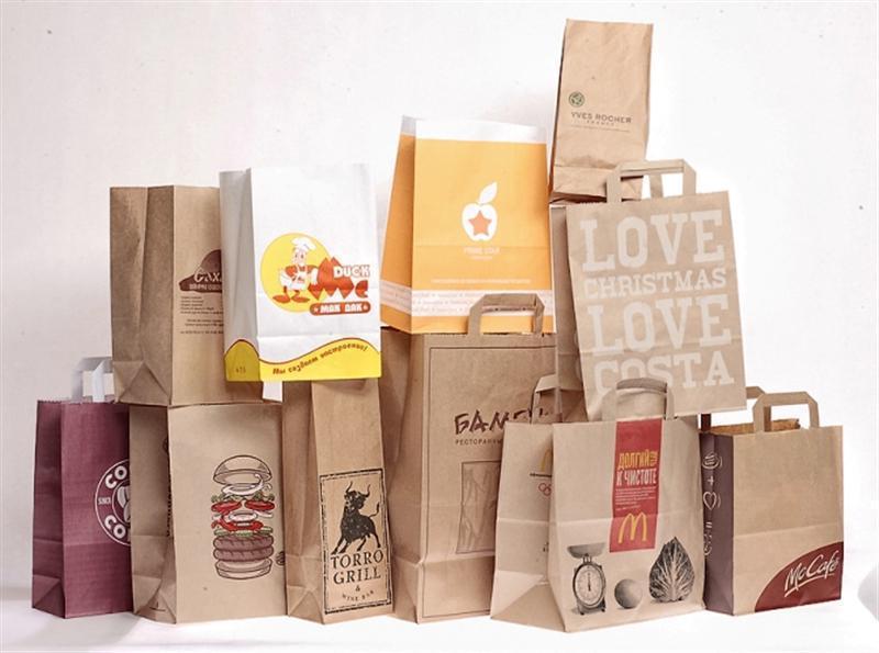 Эффективная реклама пищевых продуктов на бумажных крафт-пакетах