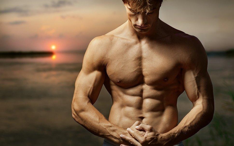Мужская сила и мышцы