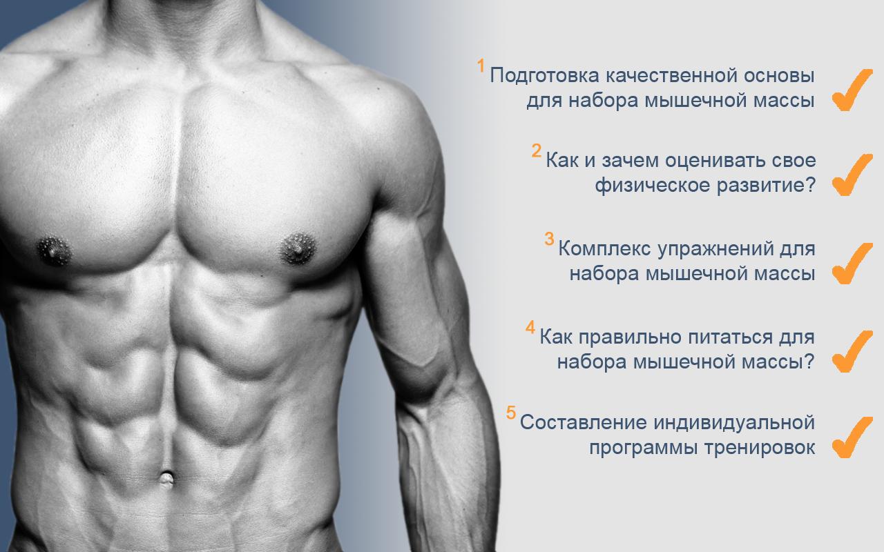 Обрести рельефную мускулатуру
