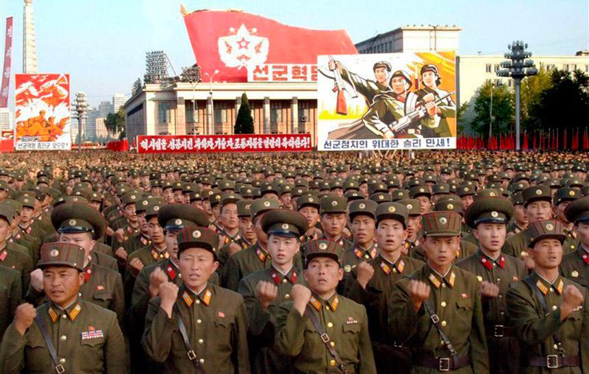 Массивный военный ответ ожидает КНДР, в случае нападения на КНДР