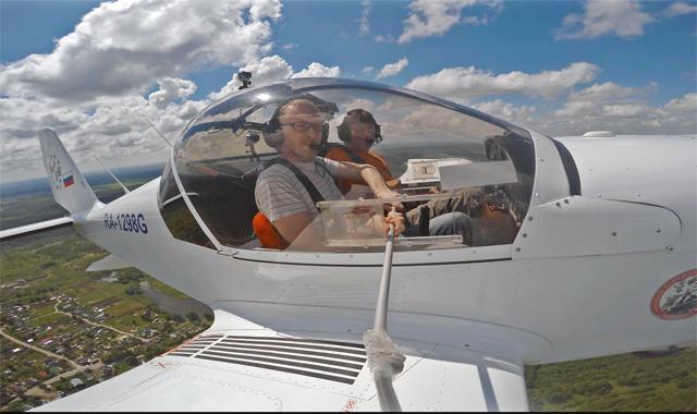 Полет на спортивном самолете!