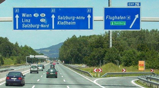 Прокат автомобилей в Зальцбурге