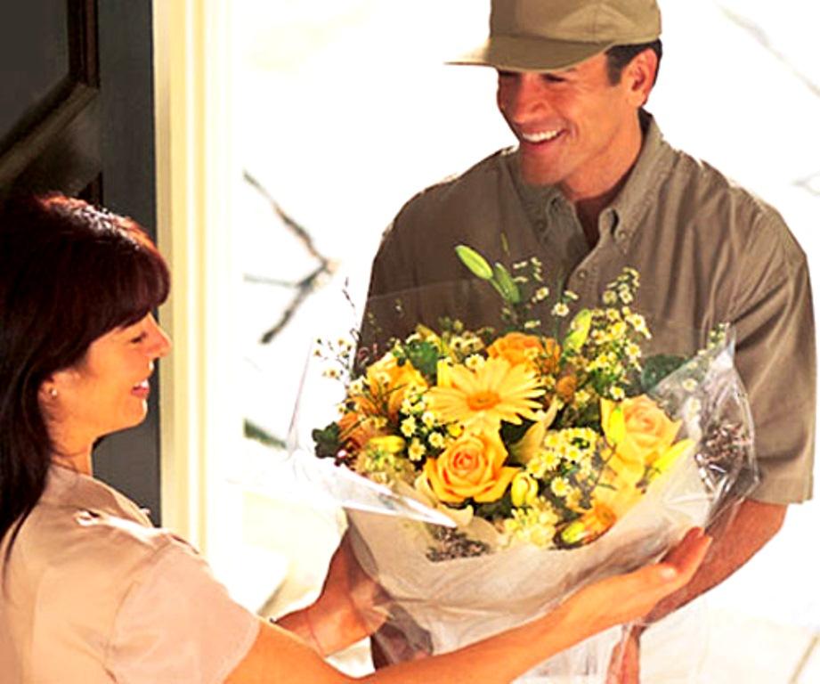 Доставку цветов надо доверять профессионалам
