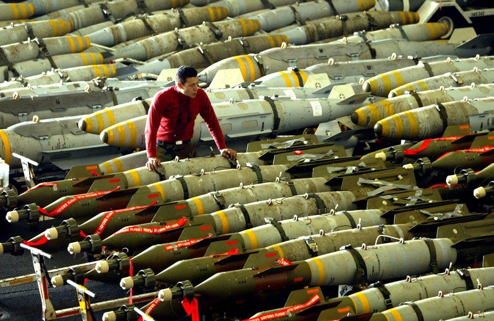 оружие НАТО на складе «Исламского государства»
