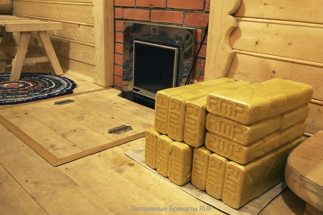 Топливные брикеты  для обогрева дома