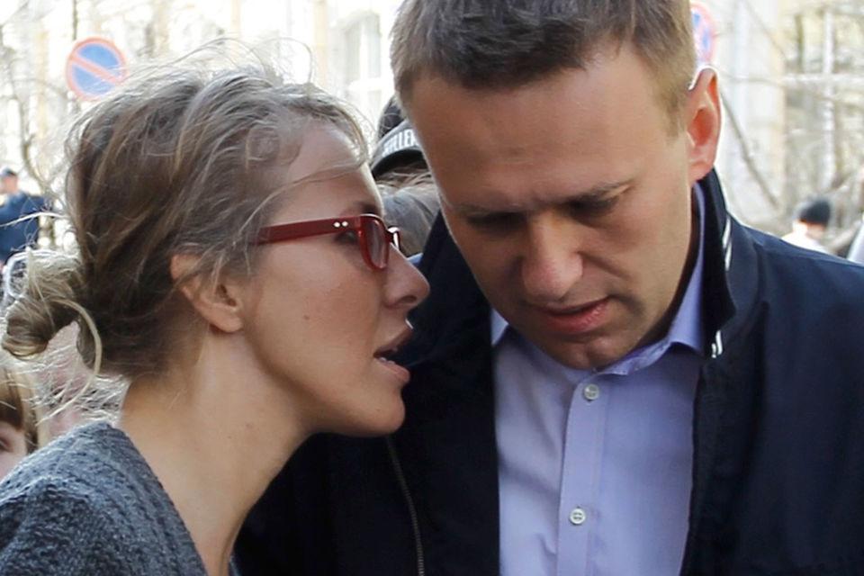 Доверенным лицом Ксении Собчак будет Алексей Навальный