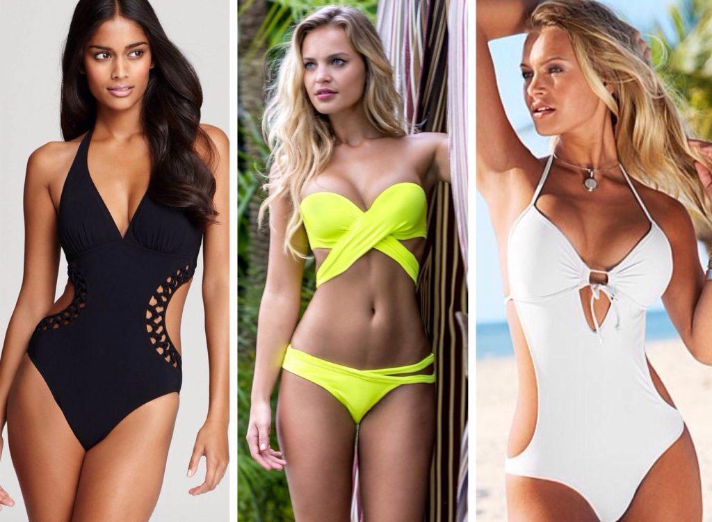 Слитные купальники: разнообразие моделей и форм
