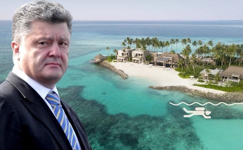 Источник: Порошенко планировал летний отпуск рядом с Крымом